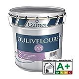 DULIVELOURS PPI - Peinture velouté poché Blanc - Velouté Poché 3.00Litre
