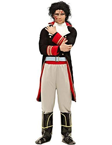Prince Charming 80er Jahre Kostüm Karneval Herren Verkleidung Extra Large