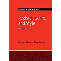 Register, Genre, and Style (Cambridge Textbooks in Linguistics) (English Edition)