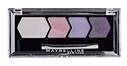 Maybelline Diamond Glow Quad Eye Shadow, Lilac Mauve