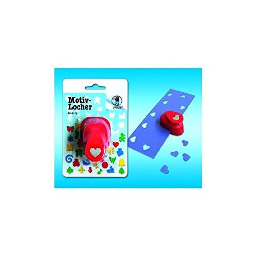 """URSUS Motiv-Locher """"Baby-H‰nde"""", klein, Farbe: rot VE = 1"""