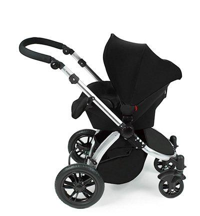 Imagen para Star Ibaby Neo 3 - Cochecito de bebé, Gris /Negro