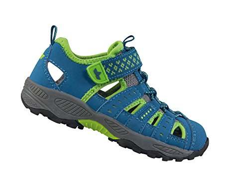 GEKA Jungen Beat Vs Trekking-& Wanderhalbschuhe, Blau (Blau/Lemon), 26 EU (Wanderschuhe Schuhe Vs)