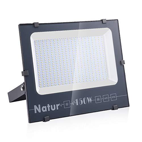 150W LED Foco Exterior de alto brillo,15000LM Impermeable IP66 Proyector Foco LED,...