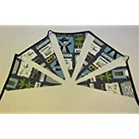 Pirate bunting, pirate garland, boys bunting, boys bedroom decor garland