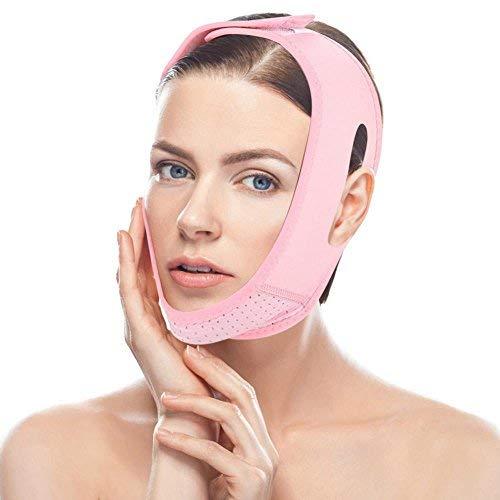 Gesicht Abnehmen Maske, die Bandage breathable Gesichtsdoppelkinn Sorgfalt Gewichts Verlust-Gesichtsbänder abnimmt -