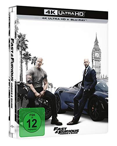 Fast & Furious: Hobbs & Shaw (Exklusiv bei Amazon: limitiertes 4K UHD Steelbook) [Blu-ray]