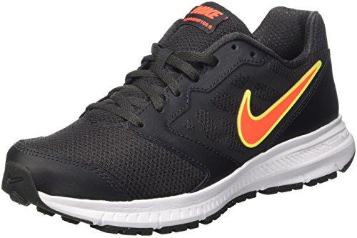 Nike Downshifter 6, Scarpe da Ginnastica Uomo, Nero (Anthracite/Total Crimson/White/Volt), 43 EU
