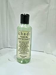 KHADI TULSI OIL HERBAL HAIR OIL
