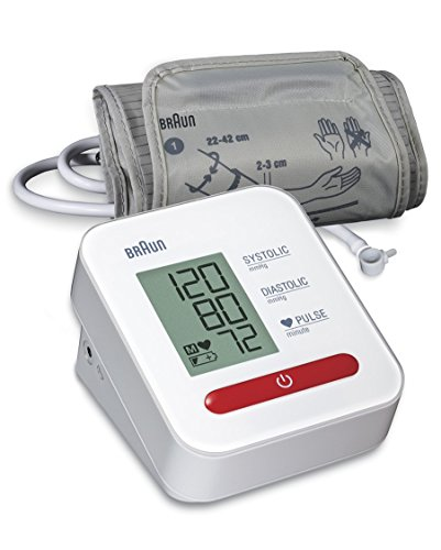 Braun BUA5000EU ExactFit 1 Misuratore della Pressione Sanguigna Avambraccio, Schermo LCD