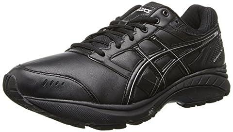 Asics Gel-foundation Walker 3, Chaussures de marche nordique pour homme multicolore blanc/argenté - noir - Noir/onyx/argenté, 37,5D (M) EU