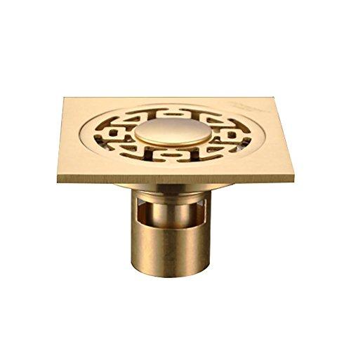 Nettoyeur de cuivre entièrement déodorant machine à laver les égouts du plancher filet carré en acier inoxydable toute la couverture en cuivre , A