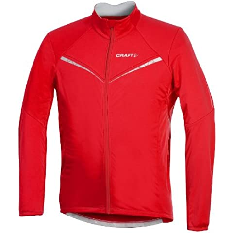 Craft Performance Bike Storm – Chaqueta con capucha para hombre, color - Fire, tamaño L (6)