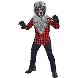 Amscan Disfraz de hombre lobo, con máscara y guantes, para 14–16años