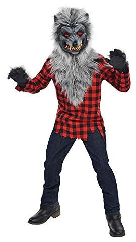 Werwolf Kostüm Hungrige Heuler Kinder Gr. 174
