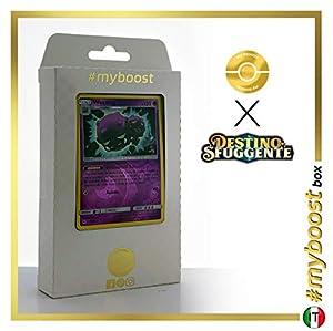 Weezing 29/68 Holo Reverse - #myboost X Sole E Luna 11.5 Destino Sfuggente - Box de 10 cartas Pokémon Italiano