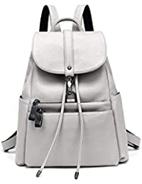 5376b2b9db LOVE LABINI donna borse zaino vera pelle zaino antifurto impermeabile  borsetta grande capacità casual morbida