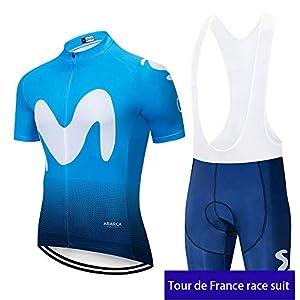 irugh Cycling Jerseys Man Clothing Set Summer Bike Short Sleeve + Shorts