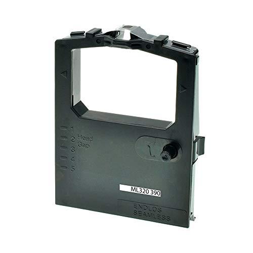 ASC-Marken-Farbband für OKI 09002310 schwarz kompatibel - Schwarz-marken Farbband