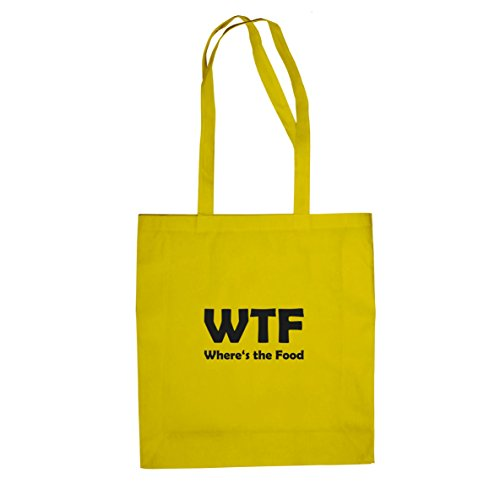 Where's the Food - Stofftasche / Beutel, Farbe: (Wtf Kostüme)