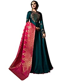 Mujeres Musulmanas Abaya Hijab Kaftan Bollywood Shalwar Viste a paquistaní  Ropa de Fiesta Marriage Ladies Anarkali b362844b89f