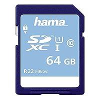 Hama 64GB High Speed Gold 25MB/s SDXC Class 10 Memory Card