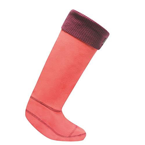 Regatta - Chaussettes en polaire pour bottes de pluie - Femme (M) (Rose/Violet)