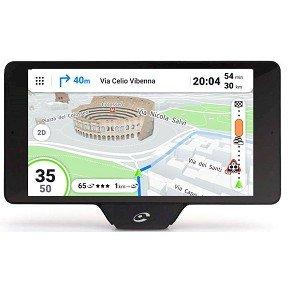 Coyote Nav+ Fijo 5.5' Pantalla táctil 202g Negro navegador - Navegador GPS (14 cm (5.5'), 1280 x 720 Pixeles, Fijo, Negro, Batería, Encendedor de Cigarrillos, 1 h)