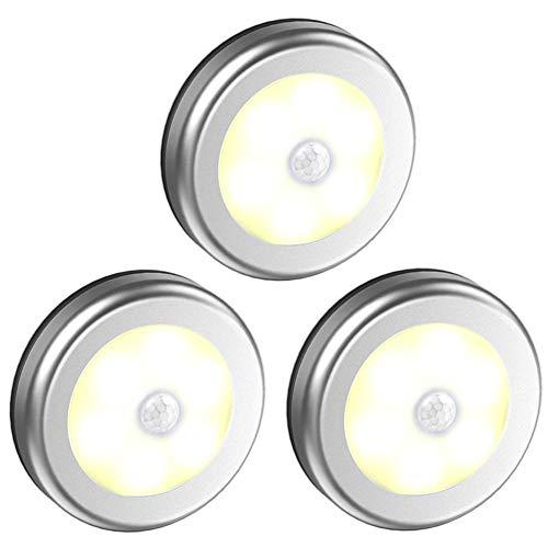 BUBU5 Luz del Sensor de Movimiento, luz Blanca de la Pared del...