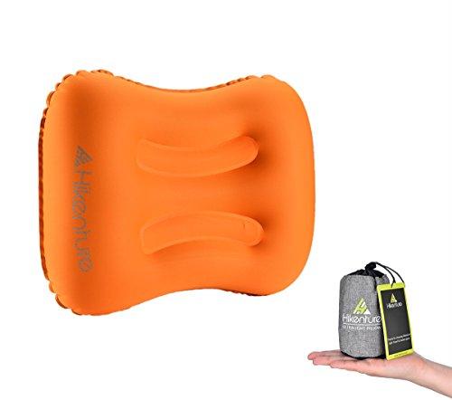 Hikenture Aufblasbares Reisekissen Camping Kissen - Ultraleichtes Reisekissen - Luftkissen Nackenkissen - Camping Pillow für C...