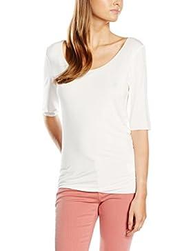 Tommy Hilfiger Jada Ballerina Top 1/2 Slv, Camiseta  Para Mujer