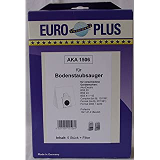 EURO PLUS5 Staubsaugerbeutel AKA 1506 Euro Plus MicroVlies Aka Electric