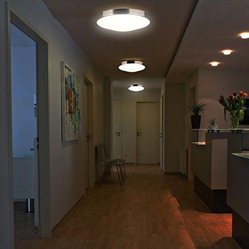 Sailun 15w led panel warmwei kaltwei moderne for Moderne deckenlampe wohnzimmer