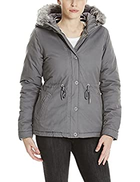 Bench Padded Jacket with Fur Lining, Chaqueta para Mujer