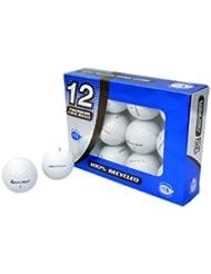 TaylorMade Penta - Lote de 12 pelotas de golf, grado A, recuperadas
