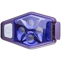 Multifuncional al aire libre de luz LED portátil para ejecutar la cola de la bicicleta de la lámpara de advertencia Mochila Casco