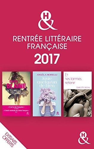 Couverture du livre Rentrée littéraire française &H 2017 extraits offerts