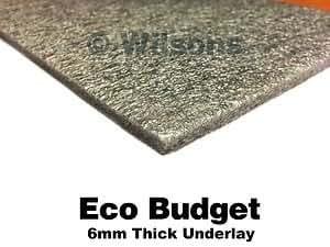 2 Rolls - Eco Budget Carpet Underlay - 28.8sq.metres by Flooring Online UK