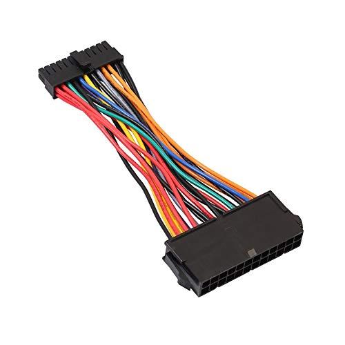 ATX Netzteil Standard 24Pin Buchse auf Mini 24P Stecker internes Netzteil Konverterkabel Für DELL 780 980 760 960 PC (780 Netzteil)