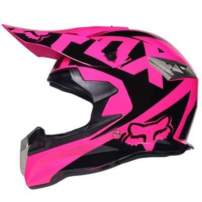 Casco de motocross Casco de moto de fibra de carbono de cara...