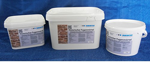 Ruberstein® Historischer Fugenmörtel natur im 5 kg Eimer