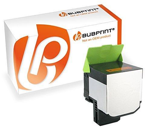 Bubprint Toner kompatibel zu Lexmark CS410 black für CS310N CS310DN CS410N CS410DN CS410DTN CS510DE CS510DTE