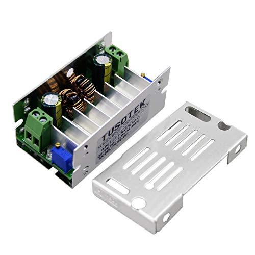 High-Efficiency Step-Up/Down-Regler automatisch auf 6-35V 1-35V DC/DC-Wandler Buck/Boost-Funktion der Moduls Stromrichter-Ladegerät mit Schutz (grau) -