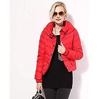 WJP mujeres ultra ligero de la chaqueta poco voluminoso abajo Outwear amortiguar por la chaqueta W-96