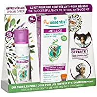 Puressential Anti-Läuse komplette Lice Treatment Lotion Spray + Comb + Headset preisvergleich bei billige-tabletten.eu