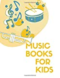 music books for kids: Blank Sheet Music Composition and Notation Notebook /Staff Paper/Music Composing / Songwriting/Piano/Guitar/Violin/Keyboard ... book/music paper spiral notebook(Size 8.5x11