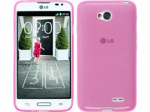 FUNDA de GEL TPU ROSA para LG OPTIMUS L70 D320N
