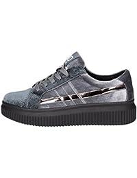 41489, Sneakers Basses Femme, Gris, 38 EUBASS3D