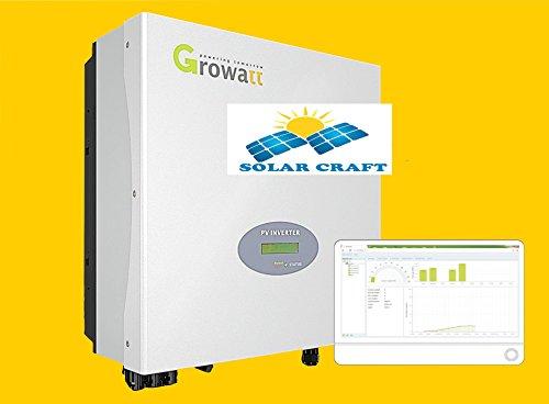 INVERSEUR 3Phasen Growatt 5000Watt mit Modul w-lan - Stm-ersatz
