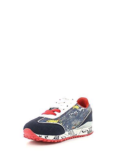 Lumberjack Galaxy 001p21, Sneaker a Collo Basso Bambino Blu